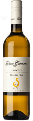 19,95 € Free Shipping | White wine Ettore Germano D.O.C. Langhe Piemonte Italy Nascetta Bottle 75 cl