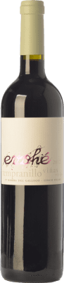 6,95 € Free Shipping | Red wine Evohé Joven I.G.P. Vino de la Tierra Bajo Aragón Aragon Spain Tempranillo Bottle 75 cl
