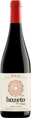 8,95 € Free Shipping   Red wine Exopto Bozeto Joven D.O.Ca. Rioja The Rioja Spain Tempranillo, Grenache, Graciano Bottle 75 cl