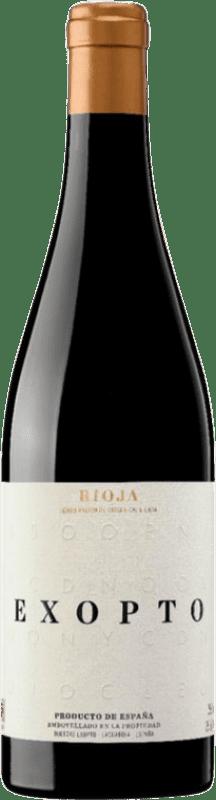 36,95 € Free Shipping | Red wine Exopto Crianza D.O.Ca. Rioja The Rioja Spain Tempranillo, Grenache, Graciano Bottle 75 cl