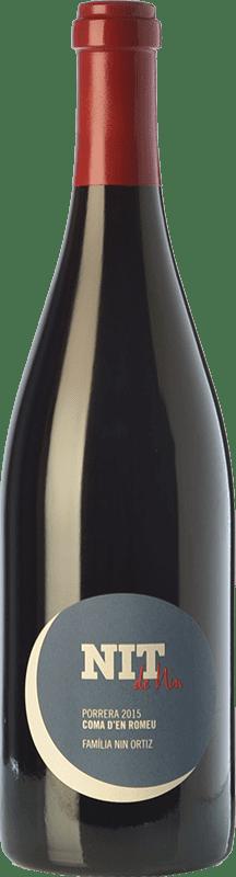 104,95 € Envío gratis | Vino tinto Nin-Ortiz Nit La Coma d'en Romeu Crianza D.O.Ca. Priorat Cataluña España Garnacha, Cariñena Botella 75 cl
