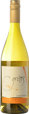 18,95 € Free Shipping | White wine Otero Ramos Gritos Estate Crianza I.G. Mendoza Mendoza Argentina Chardonnay Bottle 75 cl