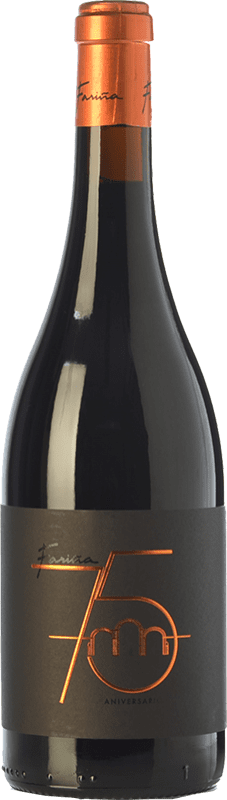 15,95 € Envío gratis | Vino tinto Fariña 75 Aniversario Crianza D.O. Toro Castilla y León España Tinta de Toro Botella 75 cl