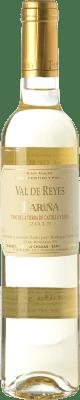 6,95 € Envío gratis | Vino blanco Fariña Val de Reyes Semi Seco I.G.P. Vino de la Tierra de Castilla y León Castilla y León España Moscatel, Albillo Botella 75 cl