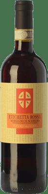 6,95 € Envío gratis | Vino tinto Fattoria dei Barbi Etichetta Rossa D.O.C.G. Morellino di Scansano Toscana Italia Merlot, Sangiovese Botella 75 cl