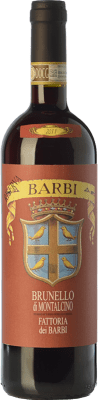 69,95 € Free Shipping | Red wine Fattoria dei Barbi Riserva Reserva D.O.C.G. Brunello di Montalcino Tuscany Italy Sangiovese Bottle 75 cl