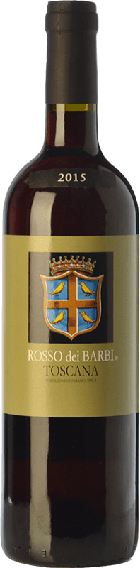 7,95 € Free Shipping | Red wine Fattoria dei Barbi Rosso dei Barbi I.G.T. Toscana Tuscany Italy Sangiovese Bottle 75 cl