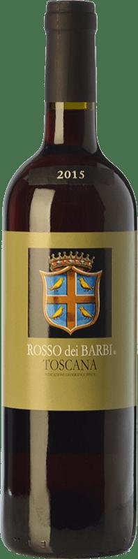 7,95 € Envío gratis | Vino tinto Fattoria dei Barbi Rosso dei Barbi I.G.T. Toscana Toscana Italia Sangiovese Botella 75 cl