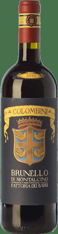 31,95 € Free Shipping | Red wine Fattoria dei Barbi Selezione Colombini D.O.C.G. Brunello di Montalcino Tuscany Italy Sangiovese Bottle 75 cl