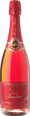 8,95 € Free Shipping | Rosé sparkling Faustino Brut D.O. Cava Catalonia Spain Grenache Bottle 75 cl