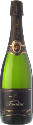 5,95 € Free Shipping | White sparkling Faustino Dry Joven D.O. Cava Catalonia Spain Macabeo, Chardonnay Bottle 75 cl. | Thousands of wine lovers trust us to get the best price guarantee, free shipping always and hassle-free shopping and returns.
