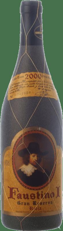 24,95 € Free Shipping | Red wine Faustino I Gran Reserva D.O.Ca. Rioja The Rioja Spain Tempranillo, Graciano, Mazuelo Bottle 75 cl