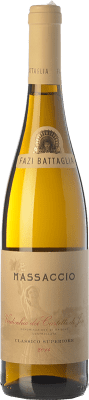 15,95 € Free Shipping | White wine Fazi Battaglia Superiore Massaccio D.O.C. Verdicchio dei Castelli di Jesi Marche Italy Verdicchio Bottle 75 cl