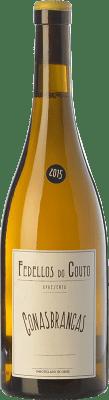 15,95 € Envoi gratuit | Vin blanc Fedellos do Couto Conasbrancas Crianza D.O. Ribeira Sacra Galice Espagne Godello, Treixadura, Doña Blanca Bouteille 75 cl