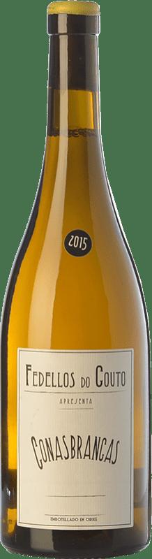 15,95 € Free Shipping | White wine Fedellos do Couto Conasbrancas Crianza D.O. Ribeira Sacra Galicia Spain Godello, Treixadura, Doña Blanca Bottle 75 cl
