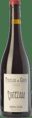 18,95 € Free Shipping | Red wine Fedellos do Couto Cortezada Crianza D.O. Ribeira Sacra Galicia Spain Mencía Bottle 75 cl