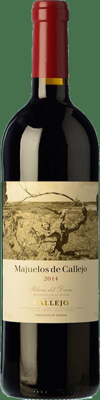 36,95 € Envío gratis | Vino tinto Callejo Majuelos Reserva D.O. Ribera del Duero Castilla y León España Tempranillo Botella 75 cl