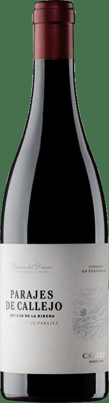 19,95 € Envío gratis | Vino tinto Callejo Crianza D.O. Ribera del Duero Castilla y León España Tempranillo Botella 75 cl