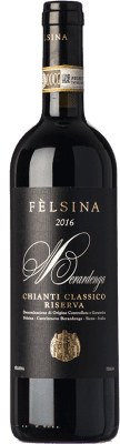 29,95 € Envoi gratuit | Vin rouge Fèlsina Riserva Reserva D.O.C.G. Chianti Classico Toscane Italie Sangiovese Bouteille 75 cl