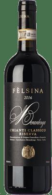 25,95 € Envío gratis | Vino tinto Fèlsina Riserva Reserva D.O.C.G. Chianti Classico Toscana Italia Sangiovese Botella 75 cl