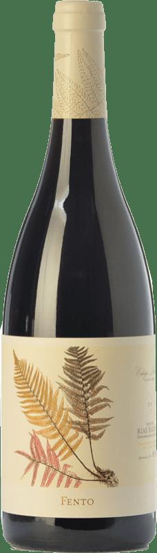 12,95 € Free Shipping | Red wine Fento Joven D.O. Rías Baixas Galicia Spain Mencía, Sousón, Caíño Black, Espadeiro, Brancellao, Pedral Bottle 75 cl