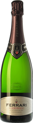 23,95 € Free Shipping | White sparkling Ferrari Maximum Demi Sec D.O.C. Trento Trentino Italy Chardonnay Bottle 75 cl | Thousands of wine lovers trust us to get the best price guarantee, free shipping always and hassle-free shopping and returns.