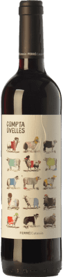6,95 € Free Shipping | Red wine Ferré i Catasús Compta Ovelles Negre Joven D.O. Penedès Catalonia Spain Merlot, Syrah, Cabernet Sauvignon Bottle 75 cl. | Thousands of wine lovers trust us to get the best price guarantee, free shipping always and hassle-free shopping and returns.