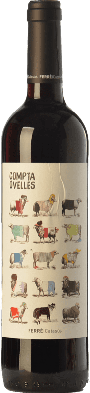 6,95 € Kostenloser Versand   Rotwein Ferré i Catasús Compta Ovelles Negre Joven D.O. Penedès Katalonien Spanien Merlot, Syrah, Cabernet Sauvignon Flasche 75 cl