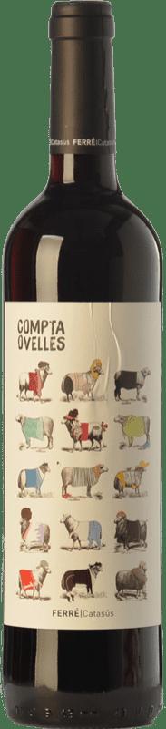7,95 € Envío gratis | Vino tinto Ferré i Catasús Compta Ovelles Negre Joven D.O. Penedès Cataluña España Merlot, Syrah, Cabernet Sauvignon Botella 75 cl