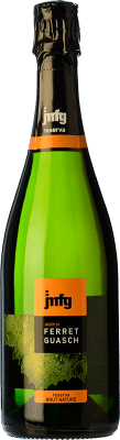 9,95 € Free Shipping | White sparkling Ferret Guasch Brut Nature Reserva D.O. Cava Catalonia Spain Macabeo, Xarel·lo, Parellada Bottle 75 cl | Thousands of wine lovers trust us to get the best price guarantee, free shipping always and hassle-free shopping and returns.