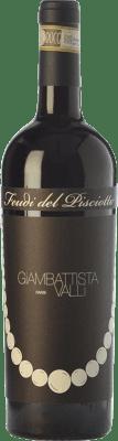 17,95 € Free Shipping | Red wine Feudi del Pisciotto Giambattista Valli D.O.C.G. Cerasuolo di Vittoria Sicily Italy Nero d'Avola, Frappato Bottle 75 cl