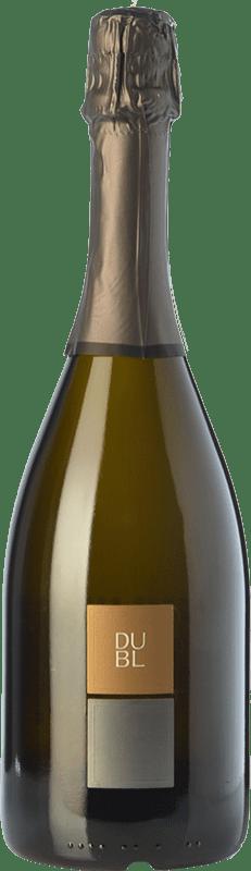 16,95 € Free Shipping | White sparkling Feudi di San Gregorio Dubl Brut I.G.T. Vino Spumante di Qualità Italy Falanghina Bottle 75 cl