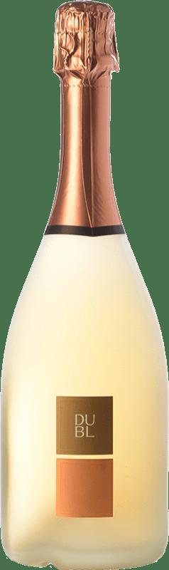 24,95 € Free Shipping | Rosé sparkling Feudi di San Gregorio Dubl Rosato I.G.T. Vino Spumante di Qualità Italy Aglianico Bottle 75 cl