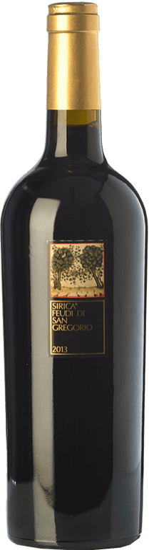 13,95 € Free Shipping | Red wine Feudi di San Gregorio Sirica I.G.T. Campania Campania Italy Sercial Bottle 75 cl