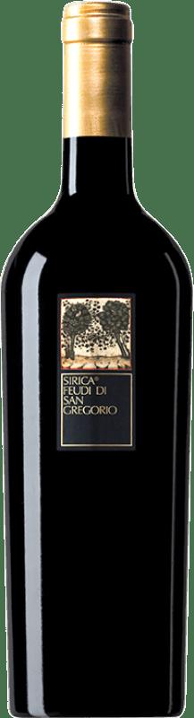 13,95 € Envío gratis | Vino tinto Feudi di San Gregorio Sirica I.G.T. Campania Campania Italia Sercial Botella 75 cl