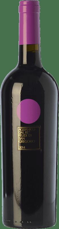15,95 € Envoi gratuit | Vin rouge Feudi di San Gregorio Aglianico dal Re D.O.C. Irpinia Campanie Italie Aglianico Bouteille 75 cl