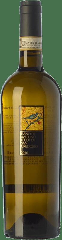 12,95 € Free Shipping | White wine Feudi di San Gregorio D.O.C.G. Fiano d'Avellino Campania Italy Fiano Bottle 75 cl