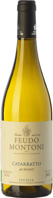 15,95 € Free Shipping | White wine Feudo Montoni Catarratto del Masso I.G.T. Terre Siciliane Sicily Italy Catarratto Bottle 75 cl