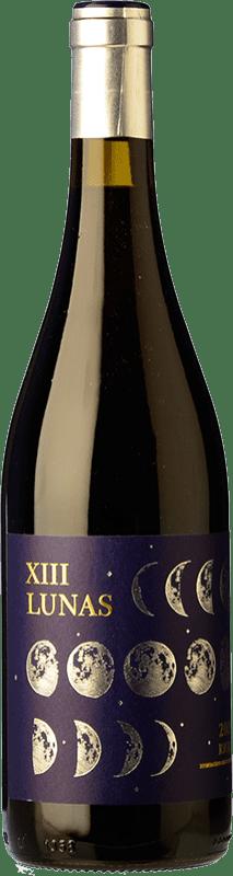 9,95 € Envío gratis | Vino tinto Fin de Siglo XIII Lunas Crianza D.O.Ca. Rioja La Rioja España Tempranillo, Garnacha Botella 75 cl