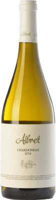 11,95 € Free Shipping | White wine Albret Crianza D.O. Navarra Navarre Spain Chardonnay Bottle 75 cl
