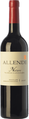 24,95 € Free Shipping | Red wine Allende Nature Joven D.O.Ca. Rioja The Rioja Spain Tempranillo Bottle 75 cl