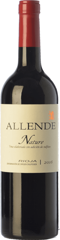 21,95 € Free Shipping | Red wine Allende Nature Joven D.O.Ca. Rioja The Rioja Spain Tempranillo Bottle 75 cl