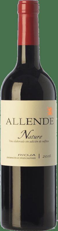 21,95 € Envío gratis | Vino tinto Allende Nature Joven D.O.Ca. Rioja La Rioja España Tempranillo Botella 75 cl