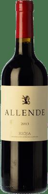44,95 € Envío gratis | Vino tinto Allende Crianza D.O.Ca. Rioja La Rioja España Tempranillo Botella Mágnum 1,5 L