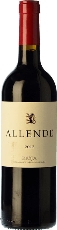 49,95 € Free Shipping | Red wine Allende Crianza 2010 D.O.Ca. Rioja The Rioja Spain Tempranillo Magnum Bottle 1,5 L