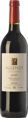 32,95 € Free Shipping | Red wine Allende Reserva D.O.Ca. Rioja The Rioja Spain Graciano Bottle 75 cl