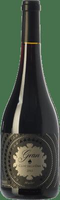 14,95 € Envío gratis | Vino tinto Ca N'Estella Gran Clot dels Oms Merlot Crianza D.O. Penedès Cataluña España Merlot, Cabernet Sauvignon Botella 75 cl