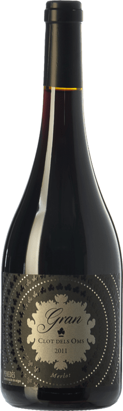 14,95 € Envoi gratuit   Vin rouge Ca N'Estella Gran Clot dels Oms Merlot Crianza D.O. Penedès Catalogne Espagne Merlot, Cabernet Sauvignon Bouteille 75 cl