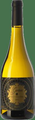11,95 € Envío gratis | Vino blanco Ca N'Estella Gran Clot dels Oms Crianza D.O. Penedès Cataluña España Xarel·lo Botella 75 cl