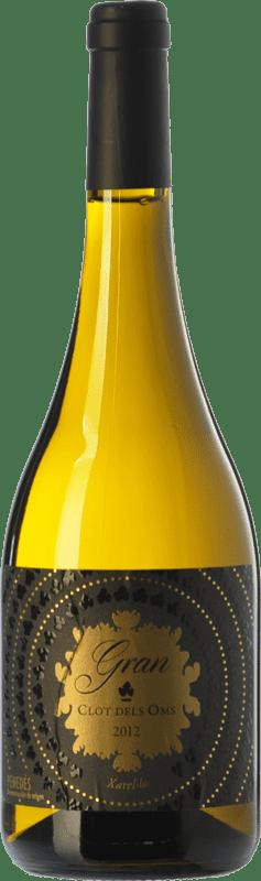 11,95 € Free Shipping | White wine Ca N'Estella Gran Clot dels Oms Crianza D.O. Penedès Catalonia Spain Xarel·lo Bottle 75 cl